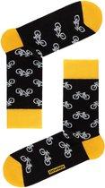 3-PAAR sokken heren fiets-design Geschenkset Maat 40/41