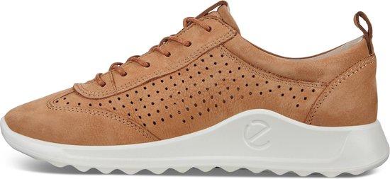 ECCO Flexure Runner Dames Sneaker Cognac Maat 37