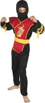 Kinderkostuum Ninja meester - 7-9 jaar