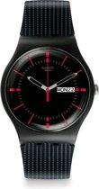 Swatch High-Lands Mix Gaet horloge  - Zwart