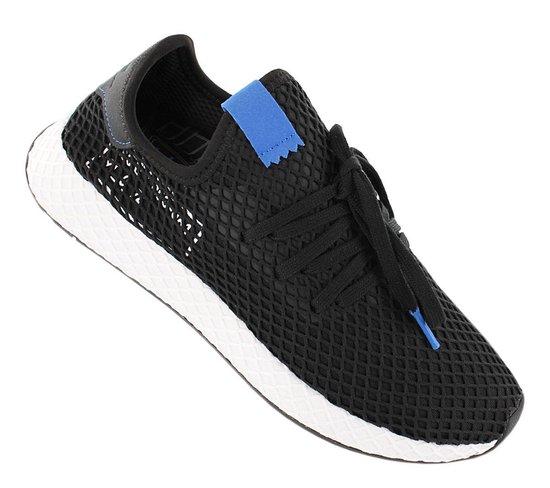 adidas Originals Deerupt Runner - Alphatype - Heren Sneakers Sportschoenen  Schoenen Zwart B42063 - Maat EU 45 1/3 UK 10.5