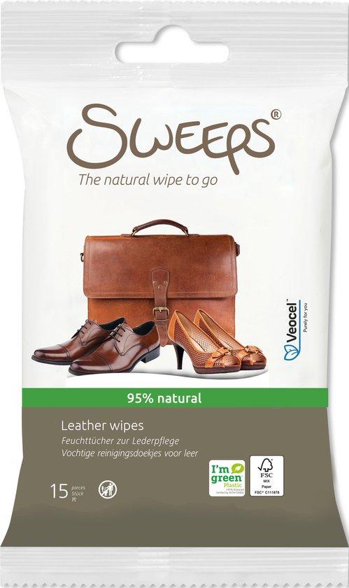 Sweeps Reinigingsdoekjes voor Leer - 15 Doekjes