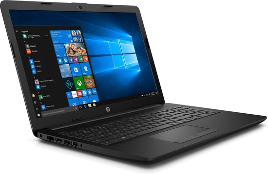 HP 15-da0636nd Notebook Zwart 39,6 cm (15.6'') 1920 x 1080 Pixels Zevende generatie Intel® Core™ i3 8 GB DDR4-SDRAM 1128 GB HDD+SSD Windows 10 Home