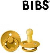 BIBS Fopspeen 0-6 maanden - Oker geel   Maat 1   T1  (1 stuk)