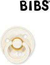 BIBS Fopspeen 0-6 maanden - Ivory White (Crème Wit) | Maat 1 | T1 | (1 stuk)