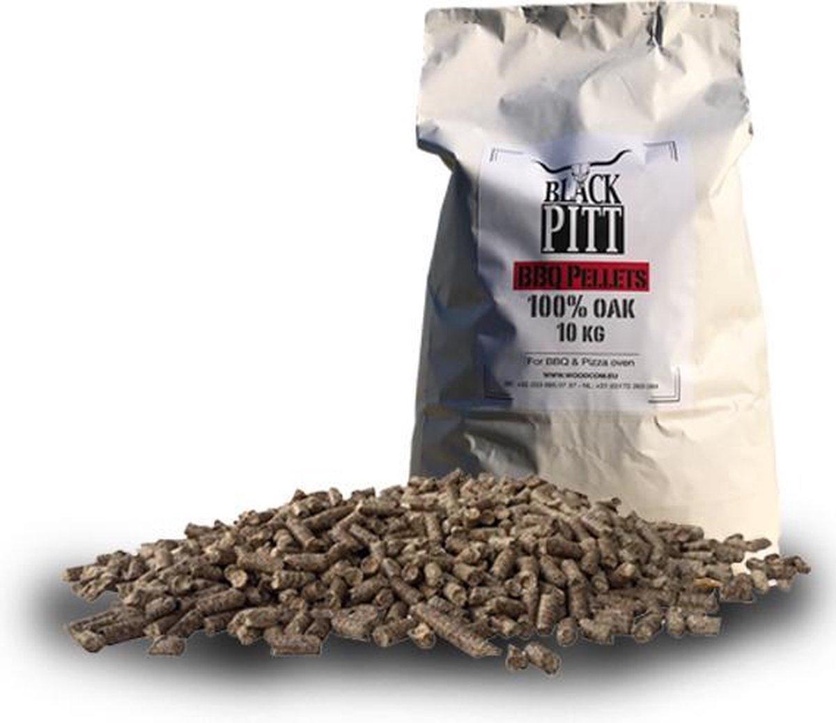 Black Pitt BBQ pellets - 100% Eik (10Kg)