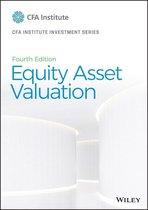Boek cover Equity Asset Valuation van Jerald E. Pinto (Onbekend)