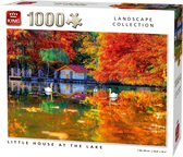 King Legpuzzel Little House At The Lake 1000 Stukjes