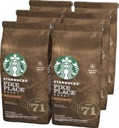 Starbucks® Pike Place® Medium Roast Koffiebonen - 6 x 200 gram