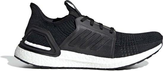 adidas Ultraboost 19 Hardloop Sportschoenen - Maat 45 1/3 - Mannen -  zwart/wit