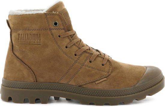 Palladium Pallabrousse Leather S 05981-257-M Heren Laarzen Boots Veterlaarzen Bruin - Maat EU 47 UK 12