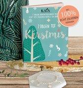 """Kaya Sieraden Adventskalender """"Kerst"""" met echt zilveren sieraden"""
