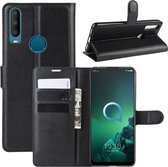 Alcatel 3X (2019) Hoesje - Book Case - Zwart