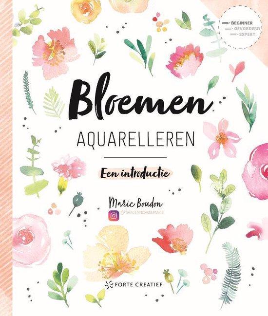 Forte Boek - Bloemen aquarelleren Marie Boudon