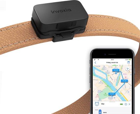 Invoxia - Katten GPS Tracker - Zonder Simkaart -Track & Trace Volgsysteem