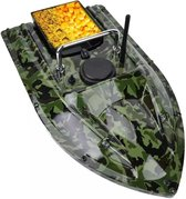 Smart remote control fishing bait boat - Karper voerboot - Met gratis bijpassende paraplu - waterdichte vishoed