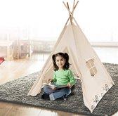 Speeltent voor Kinderen - Tipi tent - Wigwam - Katoen - Indianen tent - Binnen & Buiten - 120 x 160 CM
