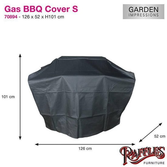 Garden Impressions - Coverit  - Gas BBQ hoes - S