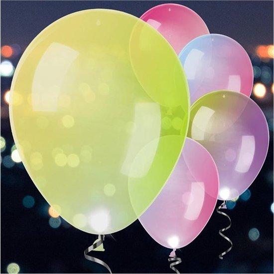 Ballonnen LED Colour Changing - 5 stuks