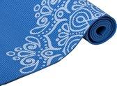 Specifit - Yogamat Marrakech - Blauw - 173 x 61 x