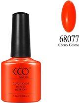 CCO Shellac-Cherry Cosmo 68077-Oranje Neon-Gel Nagellak