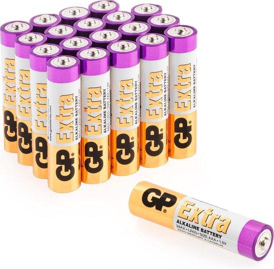 GP Extra Alkaline batterijen AAA micro mini penlite LR03 batterij 1.5V - 20 stuks AAA batterijen