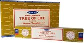 Satya wierookstokjes Tree of Life (12 pakjes)