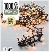 Nampook Kerstboomverlichting - 20 m - 1000 extra w