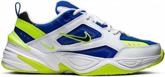 Nike M2K Tekno WitBlauwGeel Heren om te zoenen