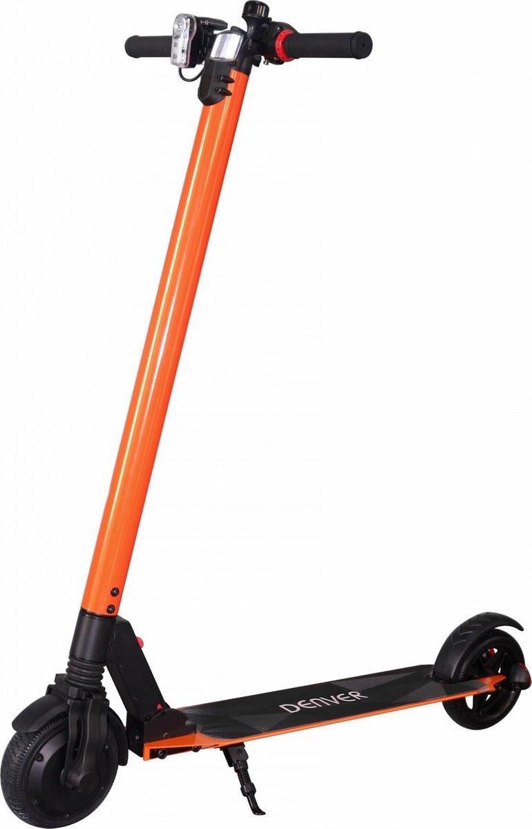 """Denver SEL-65110 Elektrische step voor kinderen & volwassenen 6.5"""""""" Wielen 20 km/u E-Step met aluminium frame actieradius 12KM Inklapbaar Met LED verlichting voor & achter – Oranje online kopen"""