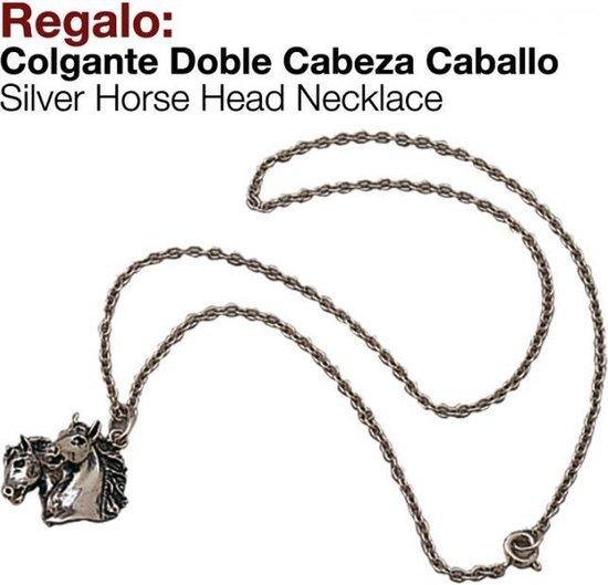 Paardenhoofden-Hanger-met ketting