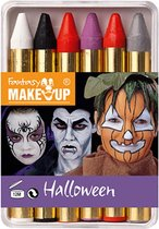 FANTASY Make-up Halloween Schminkpotloden - 5 stuks set