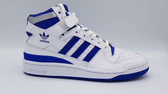Adidas Jongens Sneakers Forum Mid J - Wit - Maat 37 1/3