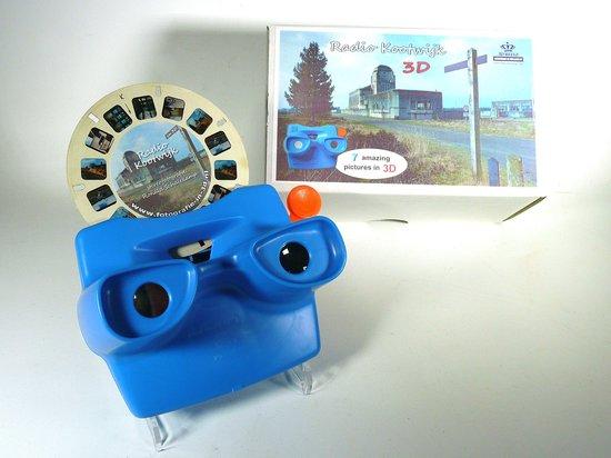 Afbeelding van het spel Radio Kootwijk in 3D - viewmaster met schijf