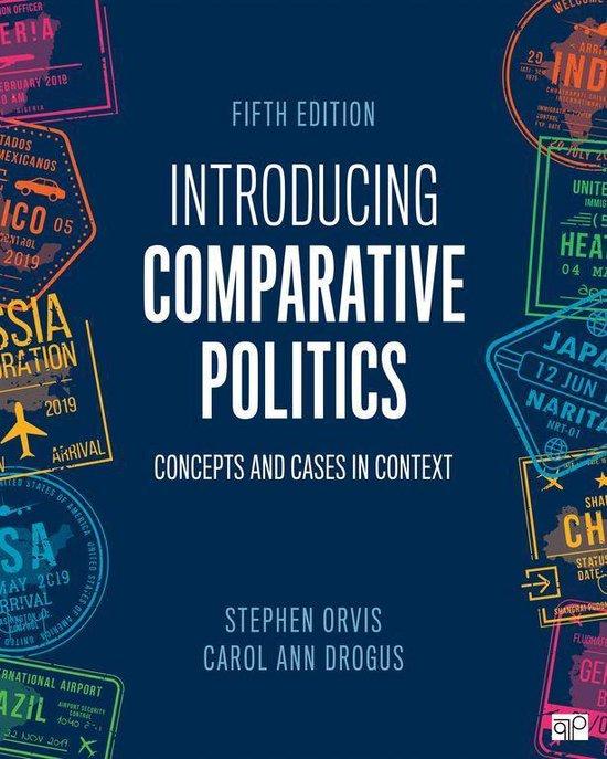 Boek cover Introducing Comparative Politics van Stephen Walter Orvis (Onbekend)