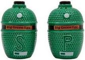 Big Green EGG - Peper en Zout - Salt en Pepper