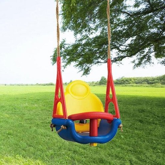 Babyschommel 3 in 1 meegroei-schommel 3-delig (babyzitje-schommelstoel-schommelzitje)  36 maand, - intergard