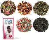 Losse thee pakket top 5 meest verkocht met theefilters - 5 soorten - Thee cadeau