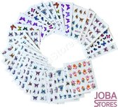 Nagel Sticker Set Vlinders (30 vellen)
