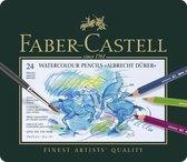 Aquarelpotlood Faber-Castell Albrecht D黵er etui � 24 stuks