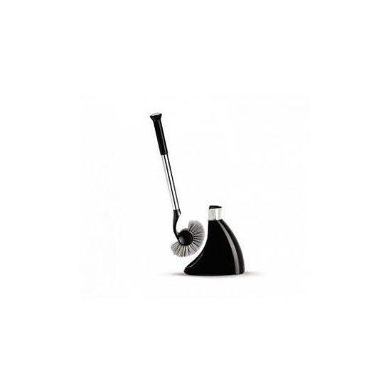 Simplehuman Toiletborstel in Houder Magnetisch - Kunststof/RVS - Zwart
