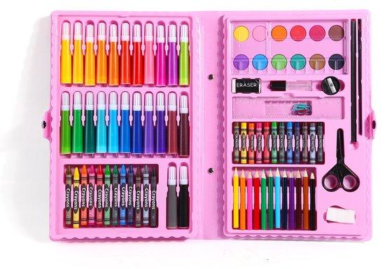 Uitgelezene bol.com | Aquarel, kleurpotloden, schets potloden set kinderen PH-13