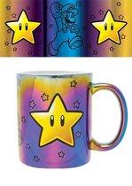 Nintendo Super Mario Star Power Metallic Mok