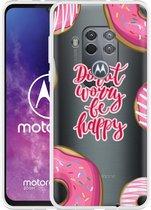 Motorola One Zoom Hoesje Donut Worry