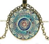 Semyco® Betoverende Yogini ketting goud - Geleverd in luxe geschenkverpakking - Spiritueel cadeau - Cadeau vrouw verjaardag