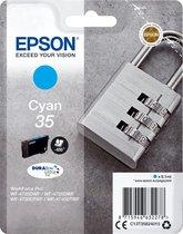 Epson 35 - Inktcartridge / Cyaan