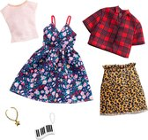 Barbie Fashions outfits 2-pack Floral & Gingham