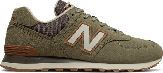 bol.com | New Balance ML574 D Heren Sneakers - Green - Maat 42.5