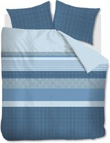 Beddinghouse Hidde Dekbedovertrek - Lits-jumeaux - 240x200/220 cm - Blauw