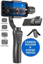 JC's Smart 5 - 3-as gimbal voor smartphone + Action Camera Houder + Tripod Statief